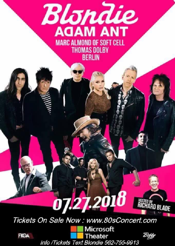 80s Weekend # 6 Microsoft Theater July 27 2018